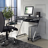 Modway Furniture Practicle Modern Office Writing Sleek Computer Desk - Minimal & Modern - 4