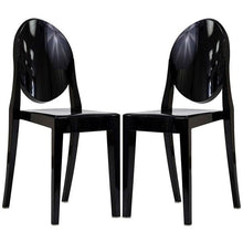 Modway Furniture Modern Casper Dining Chairs Set of 2-Minimal & Modern