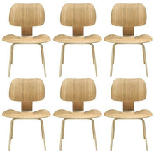 Modway Furniture Modern Fathom Dining Chairs Set of 6-Minimal & Modern