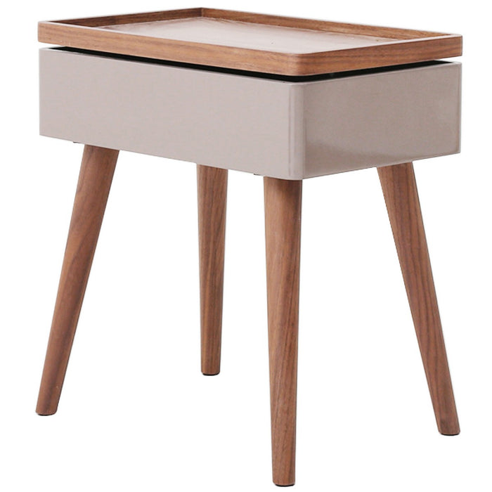 Nesta Swivel Top End Table by New Pacific Direct - 1030003