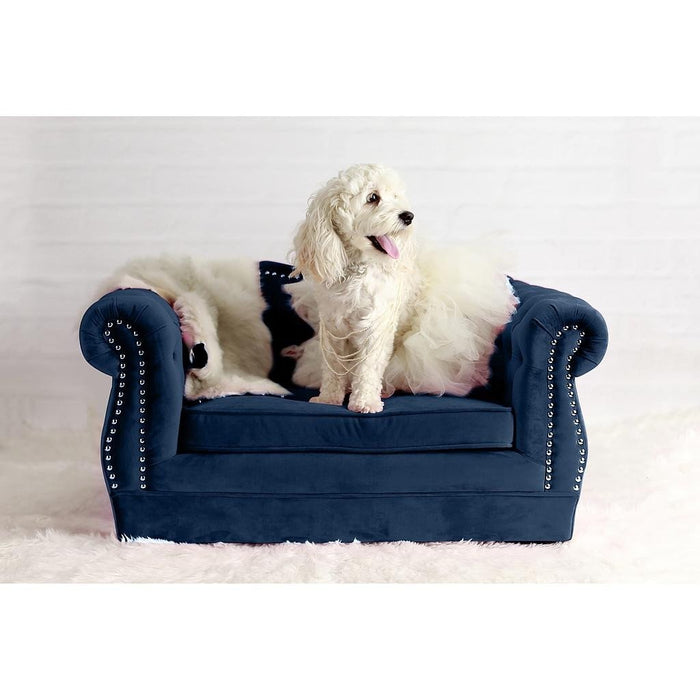 TOV Furniture Modern Yorkshire Navy Pet Bed TOV-P2037-N-Minimal & Modern