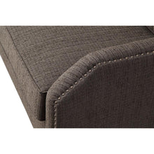 TOV Furniture Modern Hartford Grey Linen Loveseat TOV-L6117-Minimal & Modern