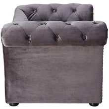 TOV Furniture Modern Dachshund Grey Pet Bed TOV-P2034-G-Minimal & Modern