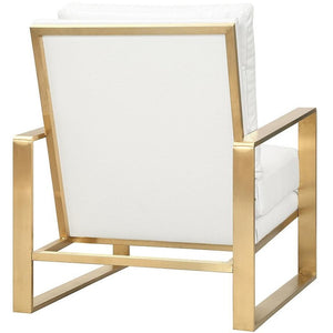 TOV Furniture Modern Mott Textured Chair in Pearl TOV-A138-Minimal & Modern
