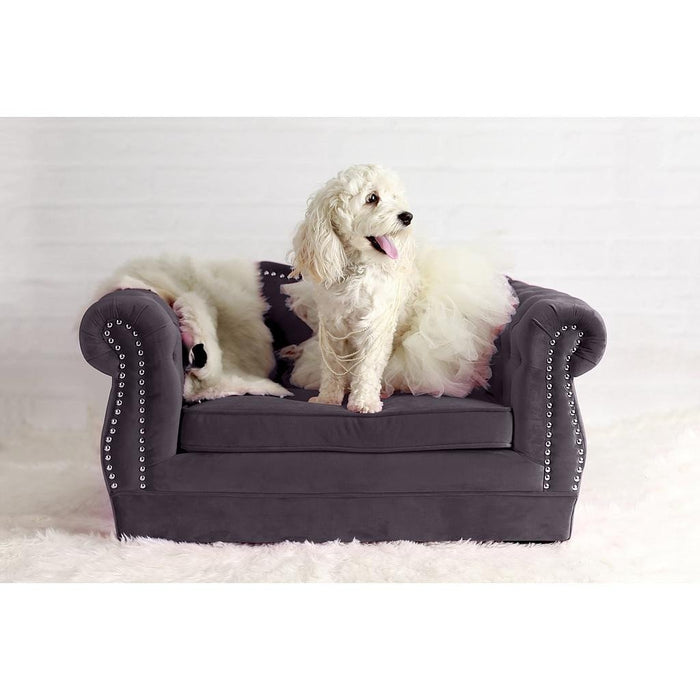 TOV Furniture Modern Yorkshire Grey Pet Bed TOV-P2039-G-Minimal & Modern