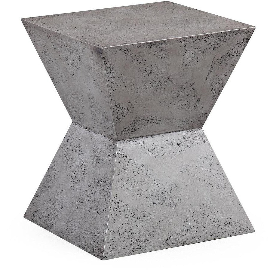 TOV Furniture Modern Everly Concrete Square Stool TOV-G5485-Minimal & Modern