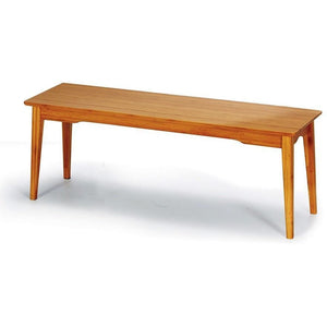 Greenington Currant Modern Bamboo Short Bench-Minimal & Modern