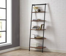 Greenington Modern Bamboo Studio line Leaning Shelf, In Exotic-Minimal & Modern