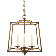 Golden Lighting Athena 3 Light Pendant in Grecian Gold - 3071-3P GG - 1