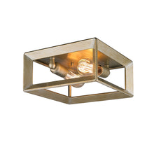 Golden Lighting Smyth Flush Mount in White Gold - 2073-FM WG - 3
