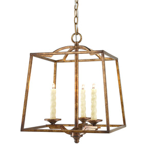 Golden Lighting Athena 3 Light Pendant in Grecian Gold - 3071-3P GG - 3