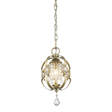 Golden Lighting Ella Mini Pendant in White Gold - 1323-M1L WG-Minimal & Modern