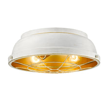 Golden Lighting Bartlett Flush Mount in French White - 7312-FM FW - 3