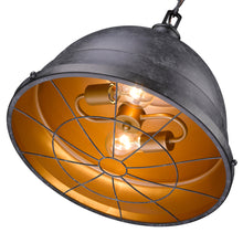 Golden Lighting Bartlett 2 Light Pendant in Black Patina - 7312-L BP-Minimal & Modern