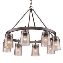 Golden Lighting Travers 8 Light Chandelier in Rubbed Bronze - 1405-8 RBZ-AG - 2