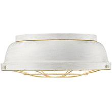 Golden Lighting Bartlett Flush Mount in French White - 7312-FM FW - 1