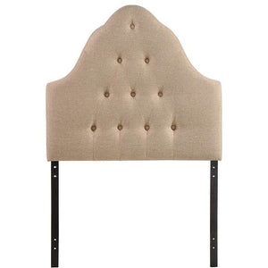 Modway Furniture Modern Sovereign Twin Fabric Headboard-Minimal & Modern