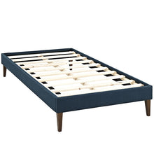 Modway Furniture Modern Sharon Twin Fabric Bed Frame with Squared Tapered Legs-Minimal & Modern
