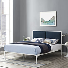 Modway Furniture Modern Della Queen Fabric Bed-Minimal & Modern