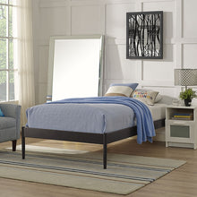 Modway Furniture Modern Elsie Twin Fabric Bed Frame-Minimal & Modern
