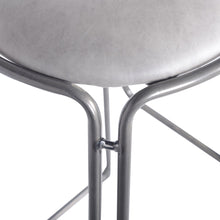 Oasis PU Leather Metal Counter Stool (Set of 2) by New Pacific Direct - 9300025