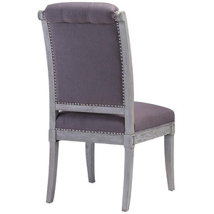 TOV Furniture Modern Addington Grey Linen Side Chair - Set of 2 TOV-G7206-Minimal & Modern