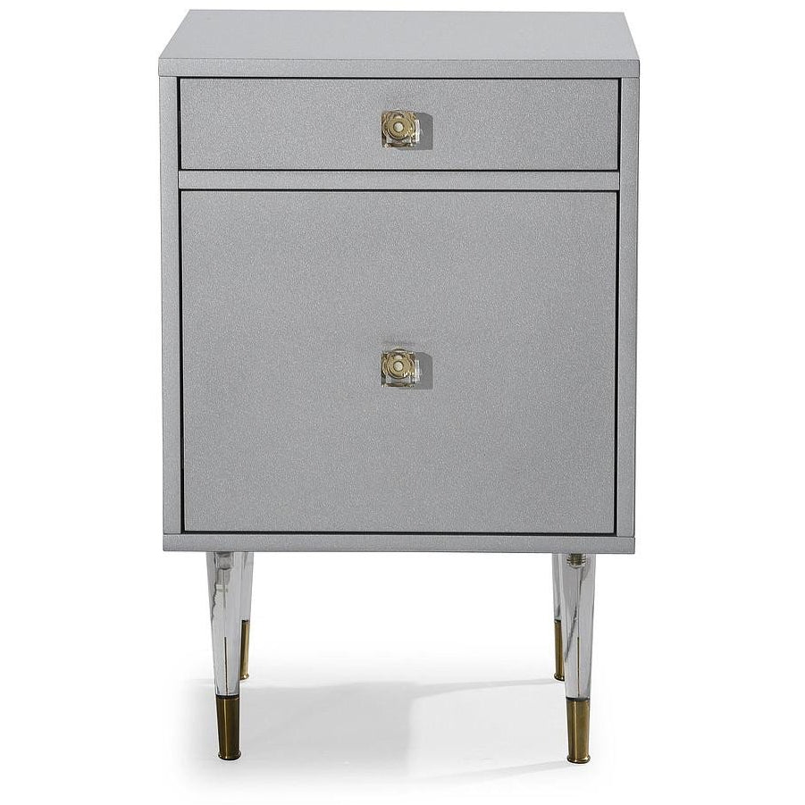 TOV Furniture Charm Side Table TOV-G5492-Minimal & Modern