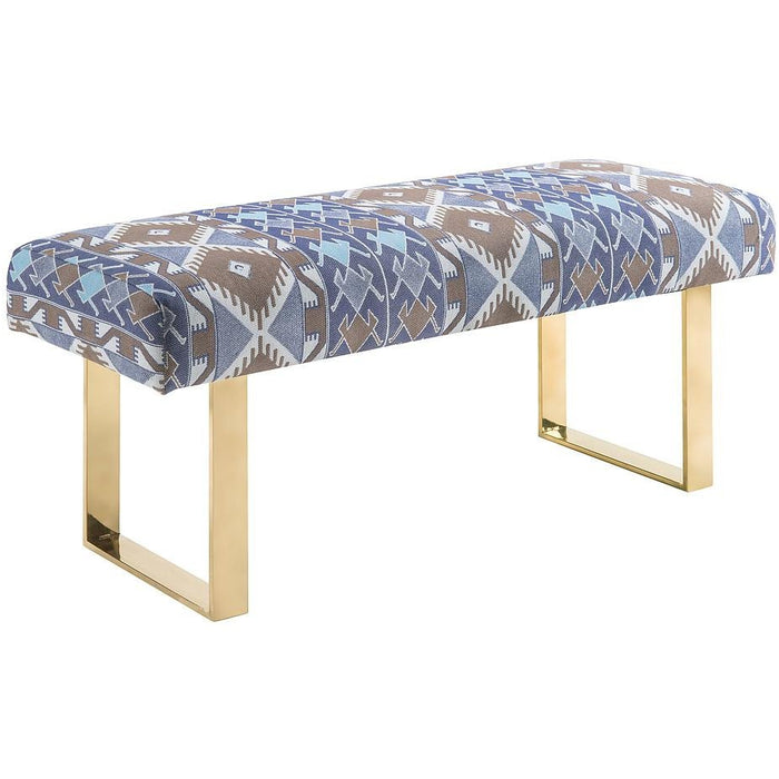 TOV Furniture Modern Mohegan Bench-Minimal & Modern