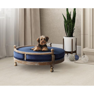 TOV Furniture Modern Hound Navy Pet Bed