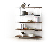 Greenington Modern Bamboo Studio Line Metal Shelf In Exotic-Minimal & Modern