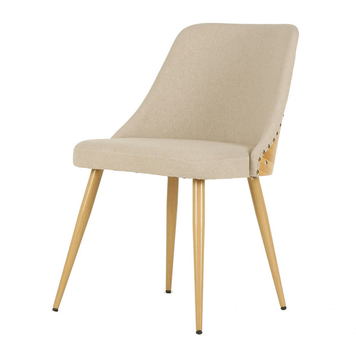Nala Fabric Bamboo Chair by New Pacific Direct - 1160012