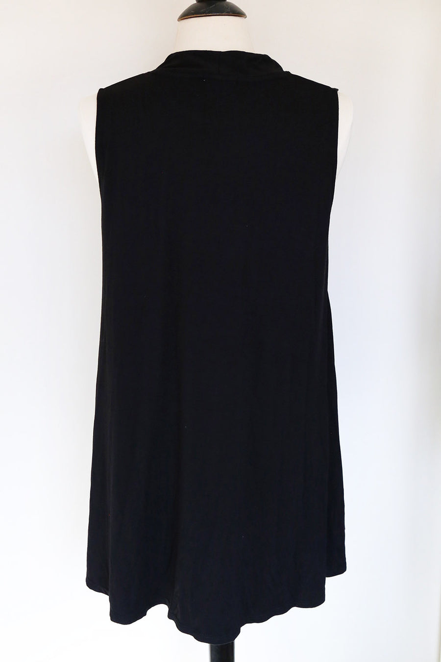 PRELOVED - Black Swing Tunic Top