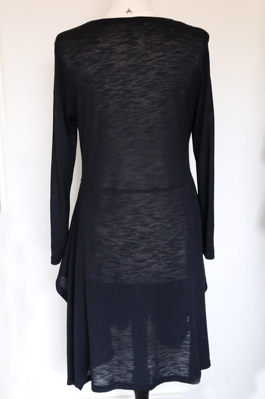PRELOVED - Full Moon Black Dress