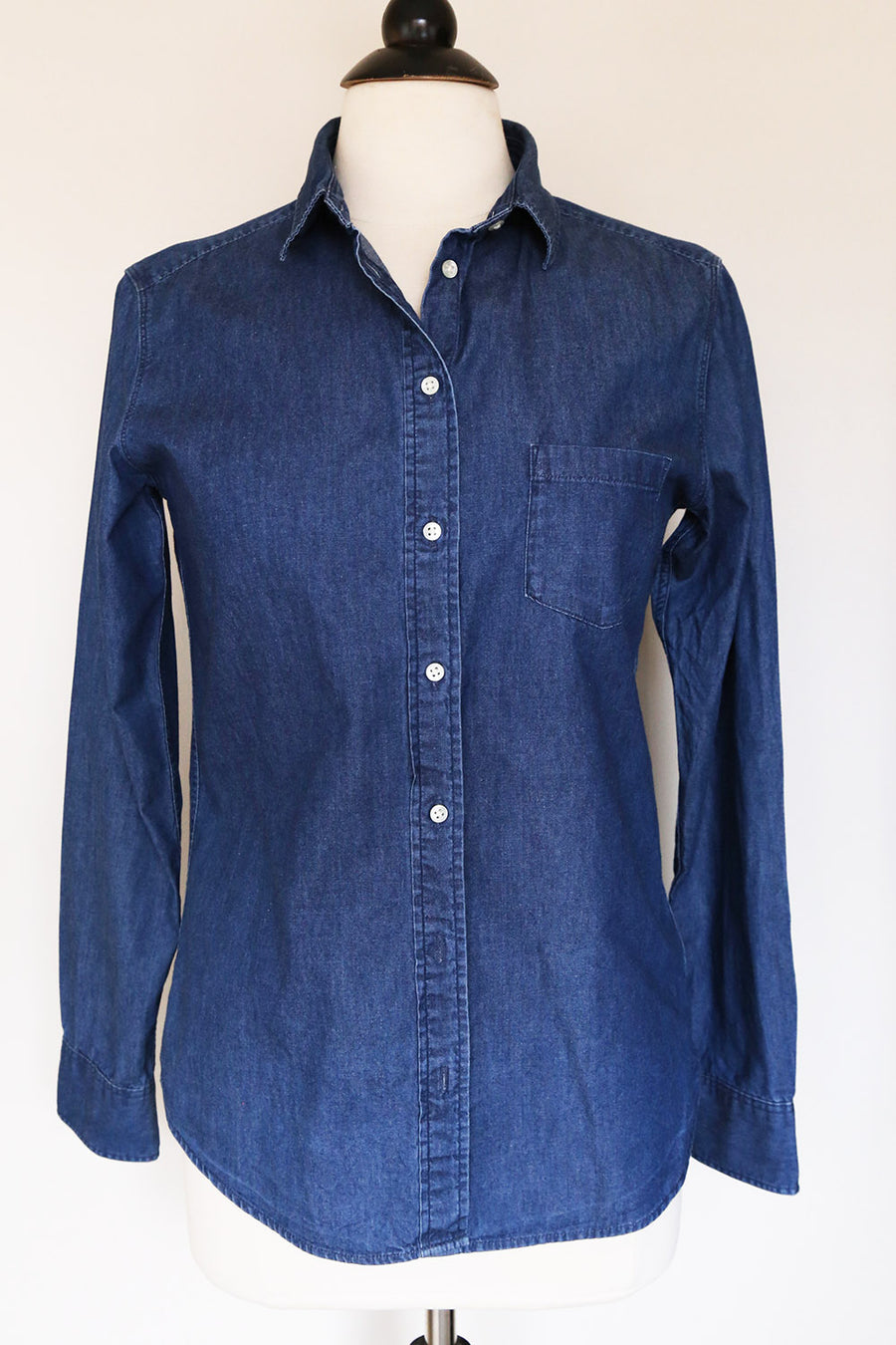 PRELOVED - 'UNIQLO' Button Up Denim Shirt