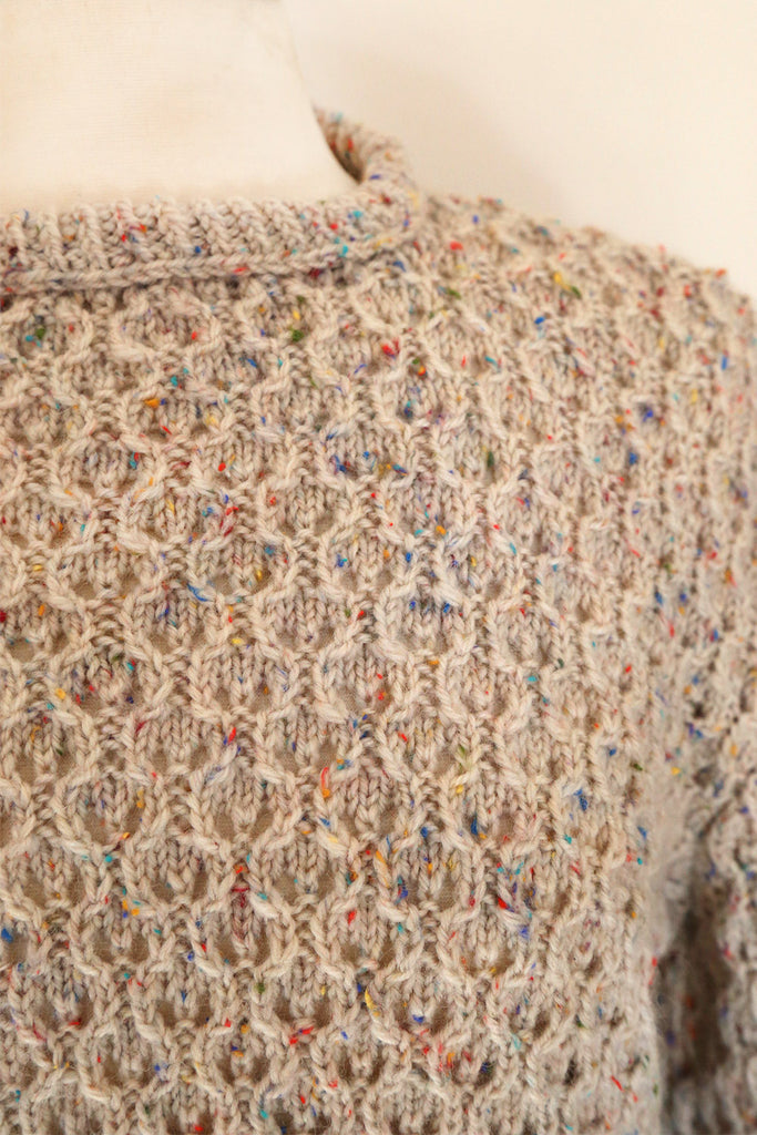 VINTAGE - Hundreds and Thousands Wool Knit Jumper