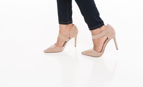 Sophia Strappy Pointed Toe Heel