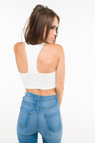 Racerback Crop Top