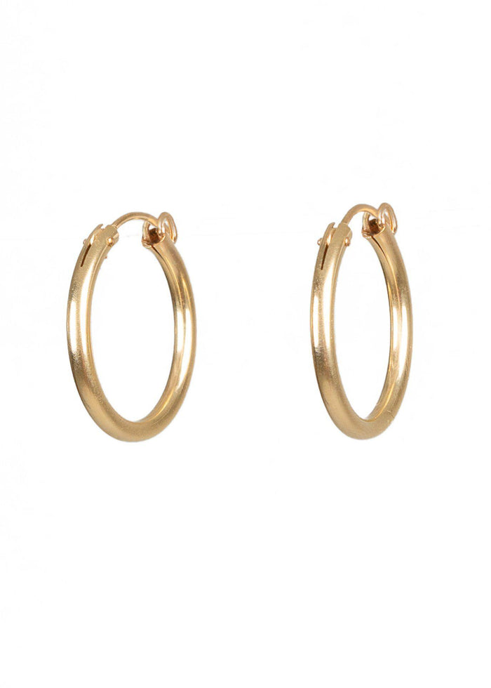 Gold Hoops - Goldish