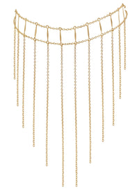Waterfall Choker - Goldish