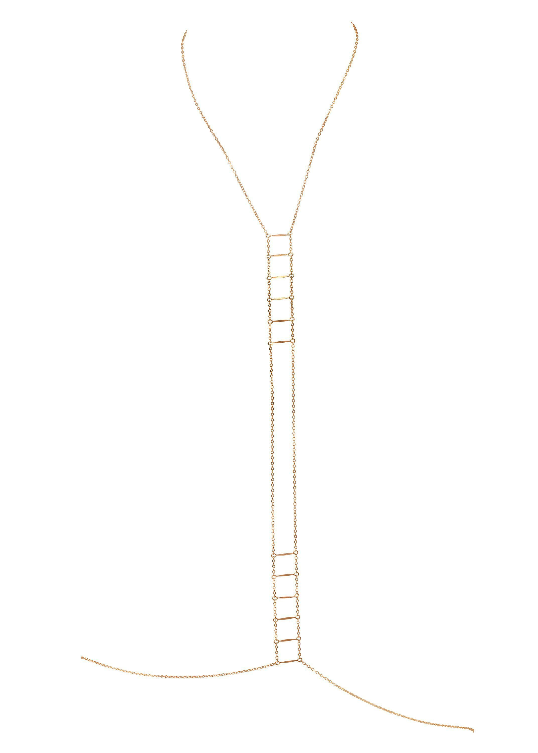 Ladders to Bliss Bodychain - Goldish