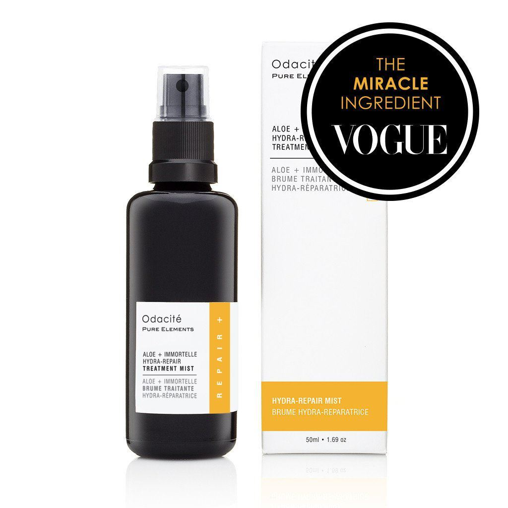 Odacite Treatment Mist:  Aloe + Immortelle Hydra-Repair Treatment Mist