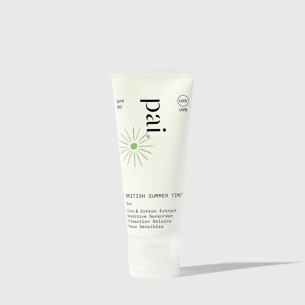 PAI BRITISH SUMMER TIME Zinc & Cotton Extract SPF 30 Sensitive Sunscreen