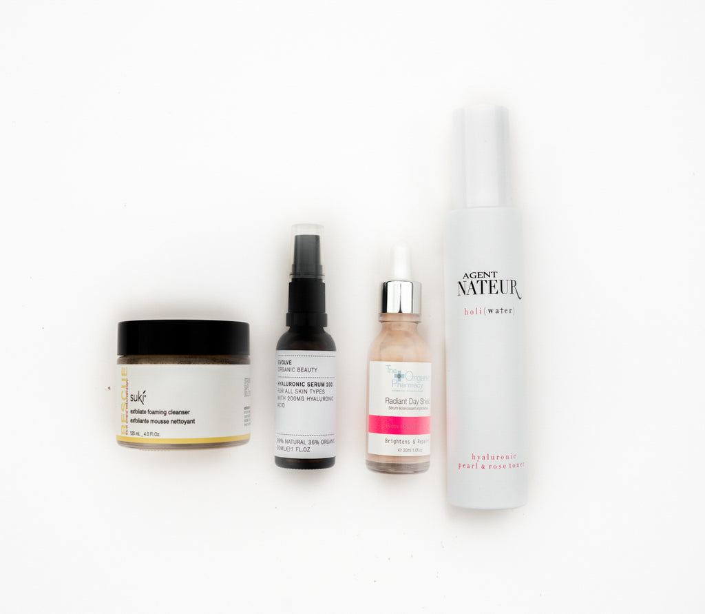 "Pure Tincture ""How To Achieve Glass Skin"" Set  for Normal/Dry Skin"