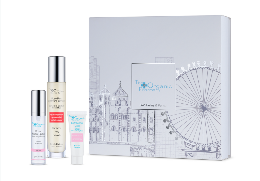 The Organic Pharmacy Skin Refine & Perfect Set