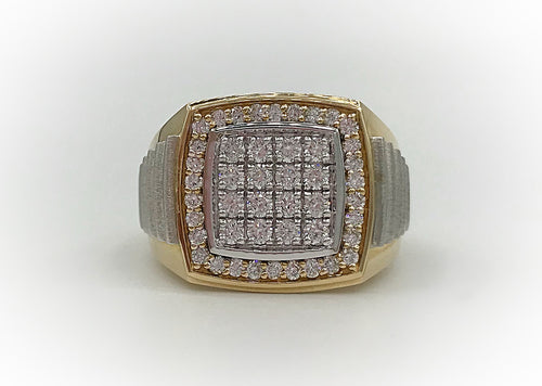 10K Men's Diamond Ring