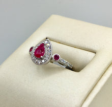 10K Ruby Ring KR05-93958CBE