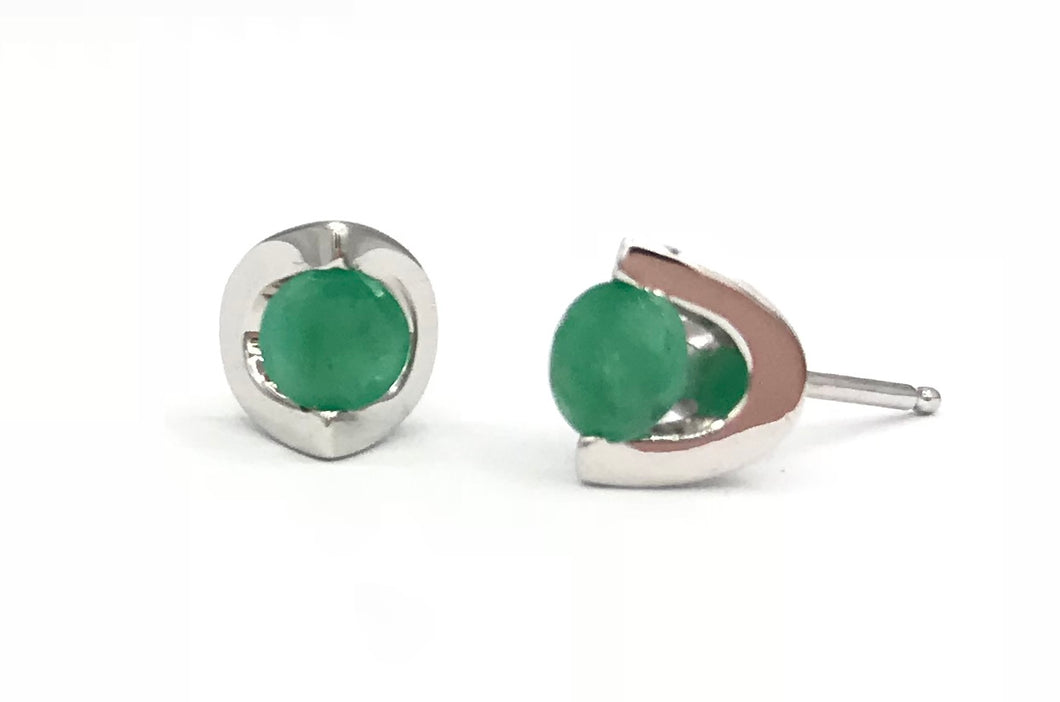 10K Emerald Earrings Forever Jewellery