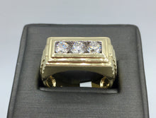 10K Gold 1.00Ct Diamond Ring TPJR10222YGTRILL