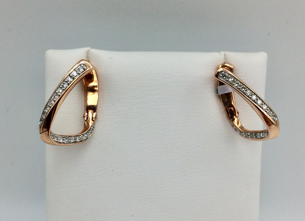 10K Rose Gold Earrings