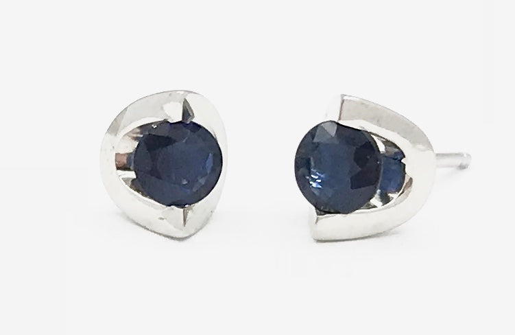 10K Sapphire Earrings Forever Jewellery